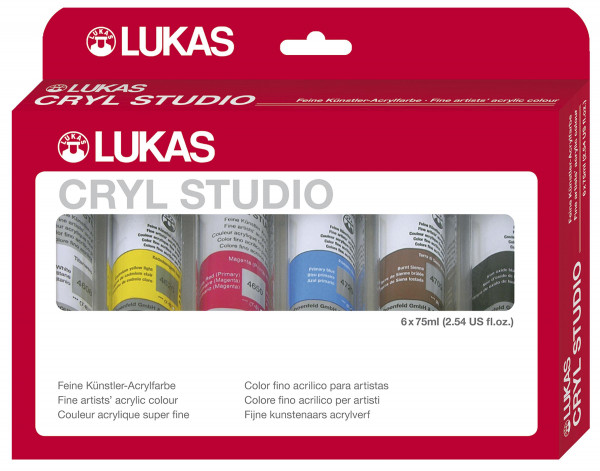 Lukas Cryl Studio Acrylfarben-Set