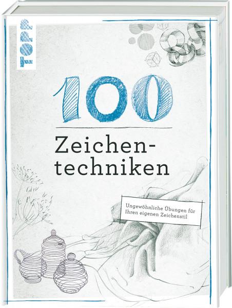 100 Zeichentechniken (Monika Reiter, Dieter Schlautmann) | Frechverlag