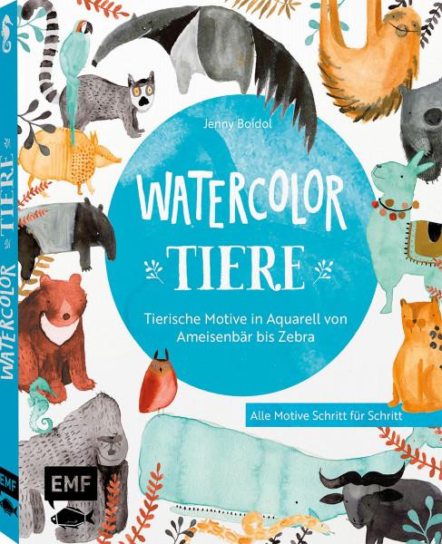 Watercolor-Tiere (Jenny Boidol) | EMF Vlg.