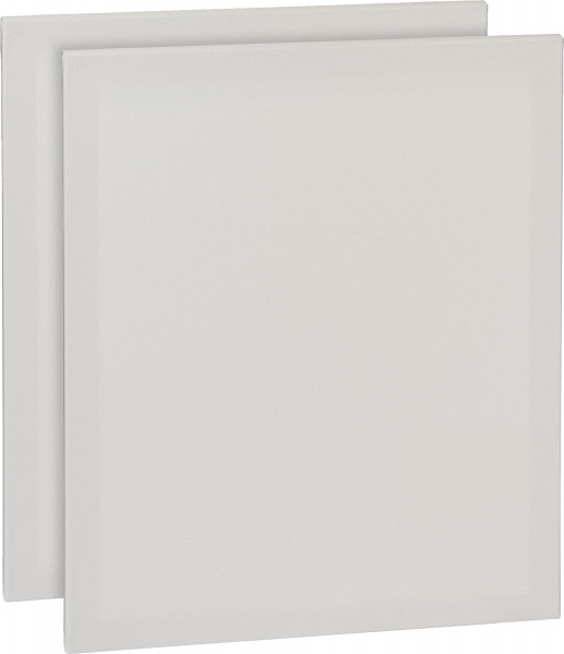 Eco Plus Bespannter Keilrahmen 50 x 60 cm, 2er-Pack
