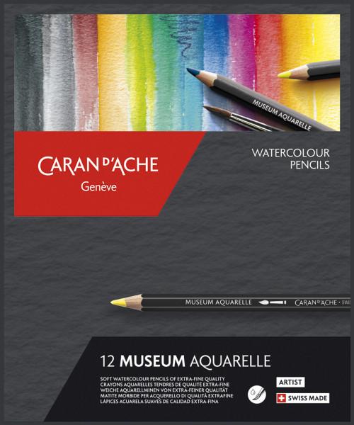 Caran d'Ache Museum Aquarelle-Set   Kartonetui