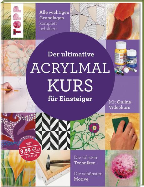 Der ultimative Acrylmalkurs für Einsteiger | frechverlag
