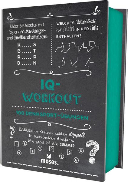 IQ-Workout: 100 Denksport-Übungen | Moses Vlg.