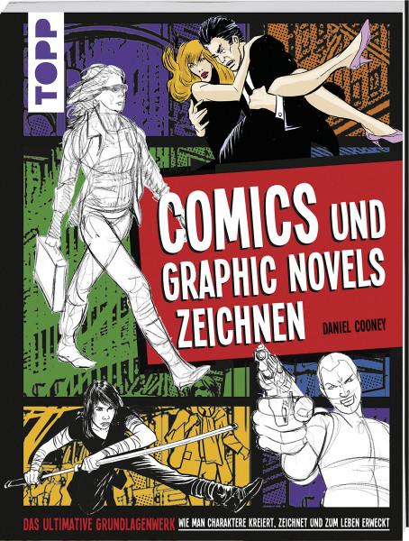Comics und Graphic Novels zeichnen (Daniel Cooney) | frechverlag