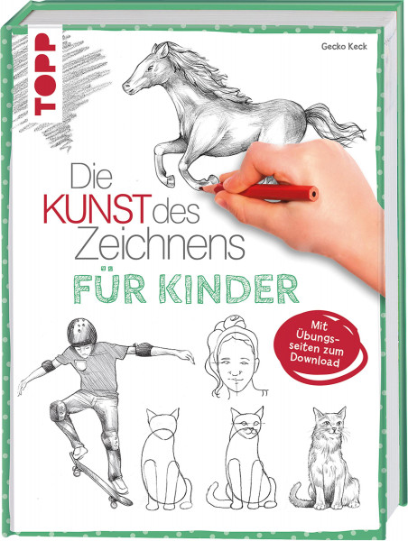 Die Kunst des Zeichnens für Kinder (Gecko Keck)   frechverlag