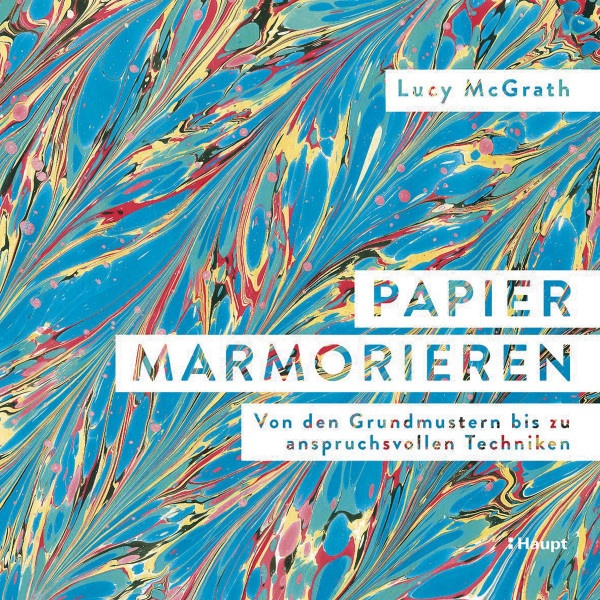 Haupt Verlag Papier marmorieren