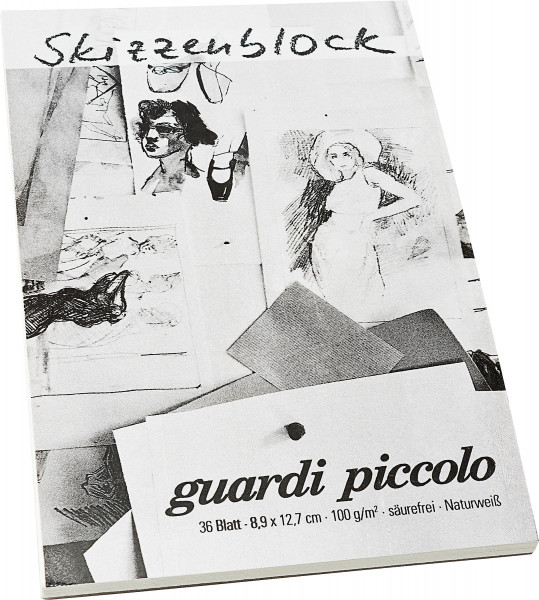 Guardi Piccolo Skizzenblock