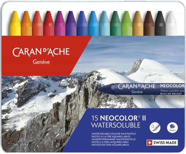 Caran d'Ache Neocolor II Wachspastelle-Set