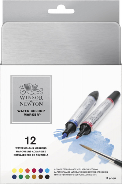 Winsor & Newton Water Colour Marker-Set