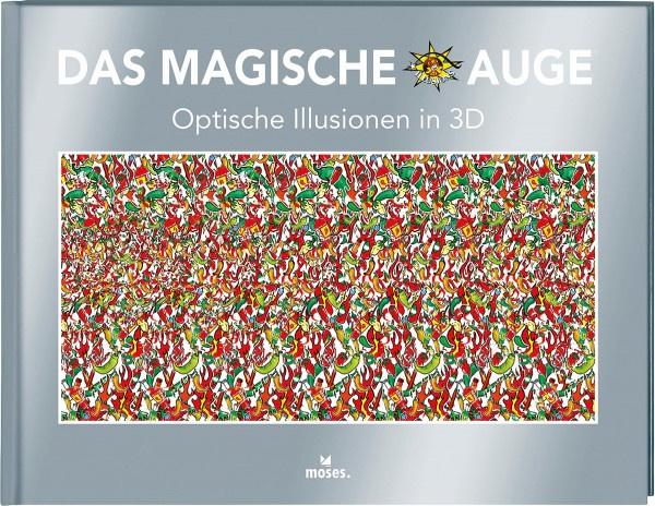 Das magische Auge – Optische Illusionen in 3D (Cheri Smith (Illustr.)) | Moses Vlg.