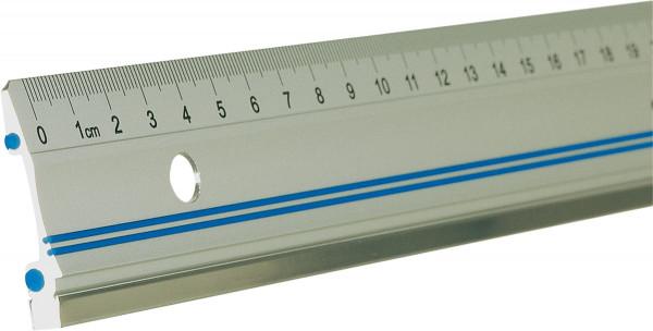 Clark Metall-Lineal mit 2-Punkt-Auflage