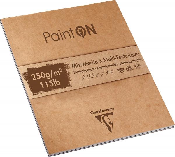 Clairefontaine Paint On Multitechnik-Papier Mix-Block