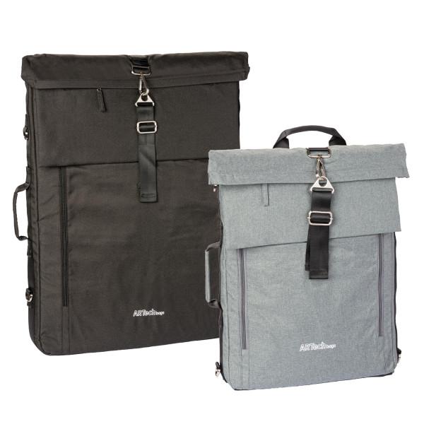 Artechbags Premium-Künstlertasche mit Rucksackfunktion