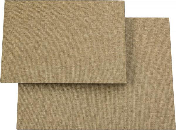 di lino puro Malplatten-Set, 2-teilig