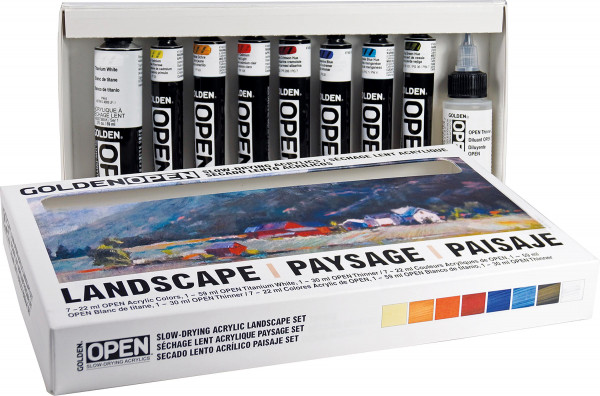 Golden Open Acrylics Landscape Set