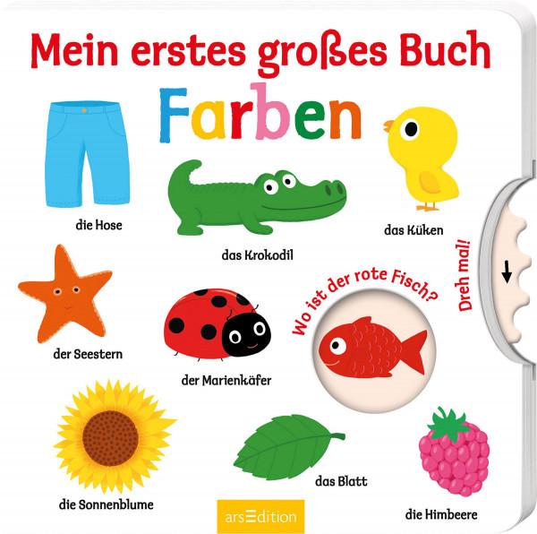 Mein erstes großes Buch – Farben   Ars Edition