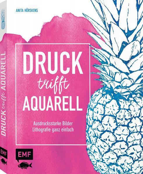 Druck trifft Aquarell (Anita Hörskens) | EMF Vlg.