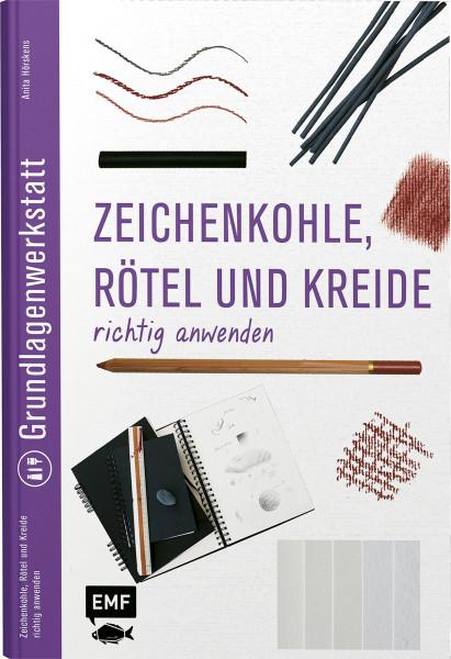 Zeichenkohle, Rötel und Kreide (Anita Hörskens) | EMF Vlg.