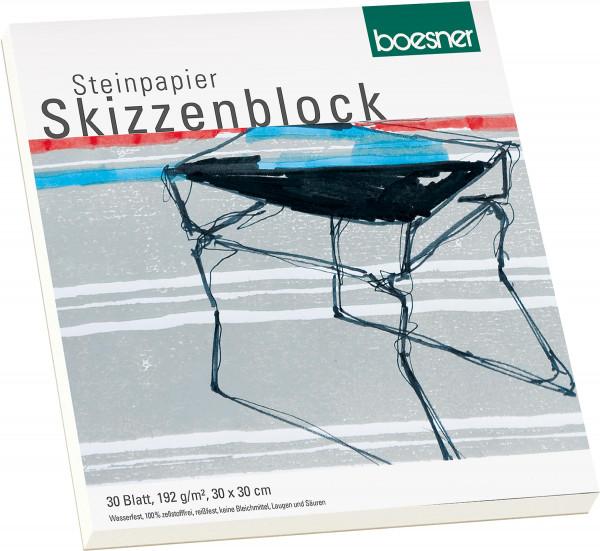 boesner Steinpapier-Skizzenblock
