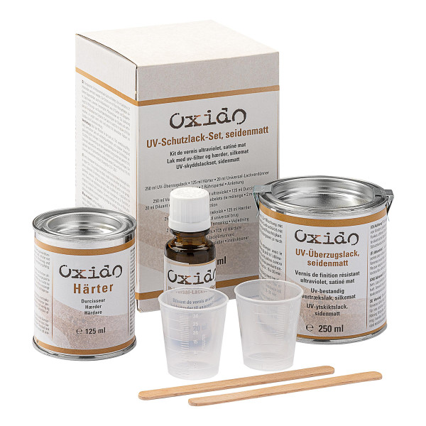 Oxido UV-Schutzlack-Set