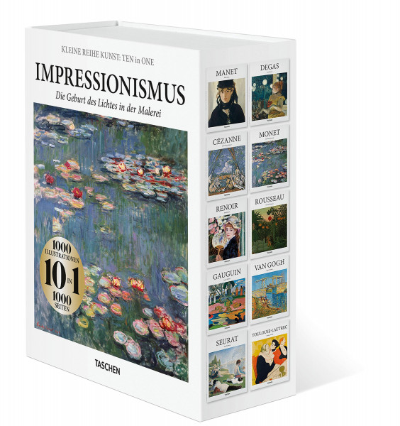 Impressionismus – Ten in One, Kleine Reihe Kunst | Taschen Vlg.