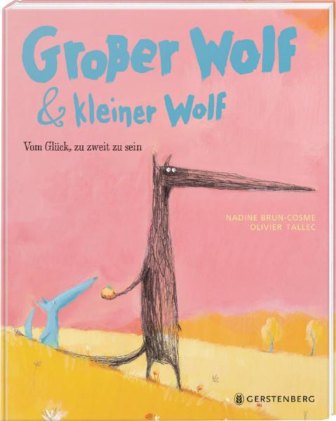 Großer Wolf & kleiner Wolf (Nadine Brun-Cosme, Oliver Tallec) | Gerstenberg Vlg.