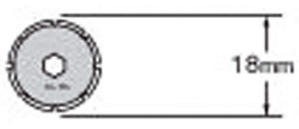 PRB18-2 Klinge, 2 Stück | Olfa PRC-2 Perforationscutter
