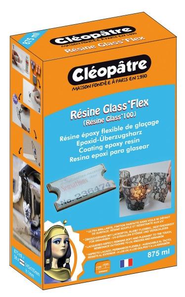 Cléopâtre Résine Glass' Flex