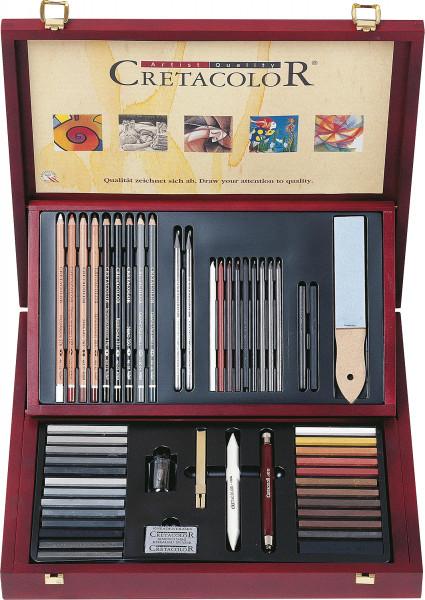 Brevillier Cretacolor Selection Künstler-Set
