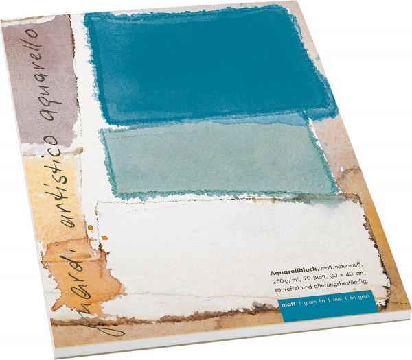 Guardi Artistico Aquarello Aquarellblock, matt