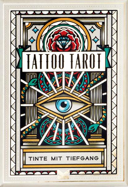 Tattoo-Tarot (Megamunden)   Laurence King Vlg.