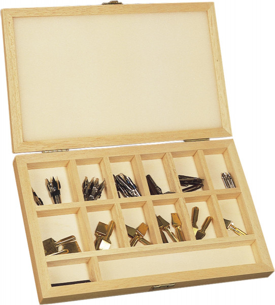 (Hiro) Federkasten aus Holz | Standardgraph Kalligrafiefedern