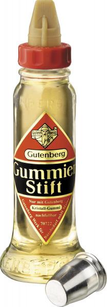 Gutenberg Gummierstift, 56 g-Flasche