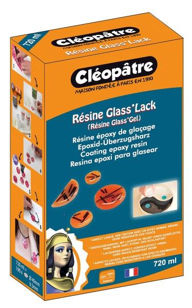 Cléopâtre Résine Glass' Lack