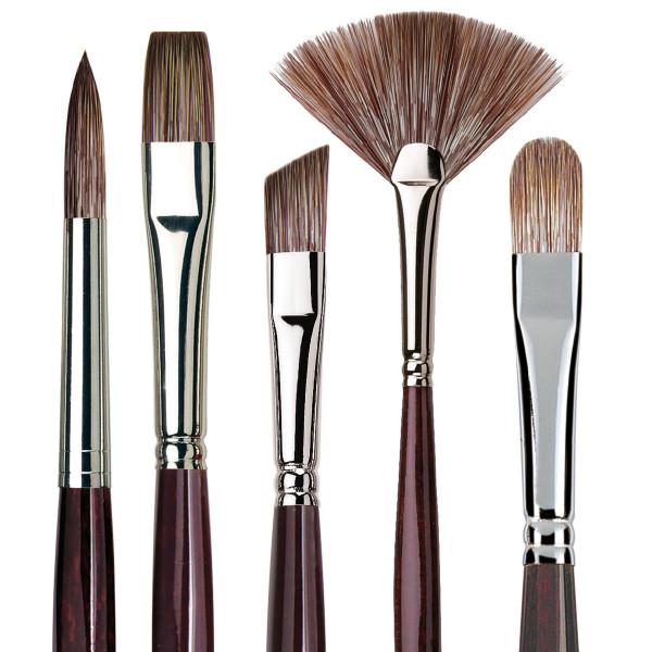 da Vinci Grigio Öl- und Acrylmalpinsel